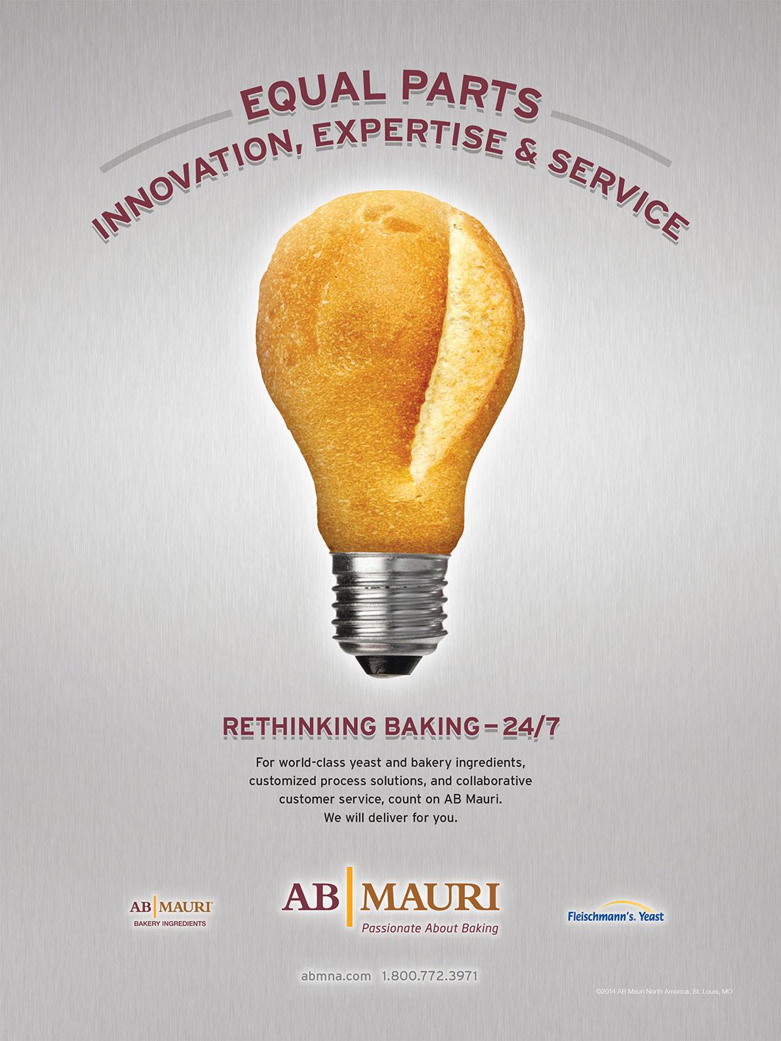 AB Mauri Print Ad Series - Phoenix Creative Co.