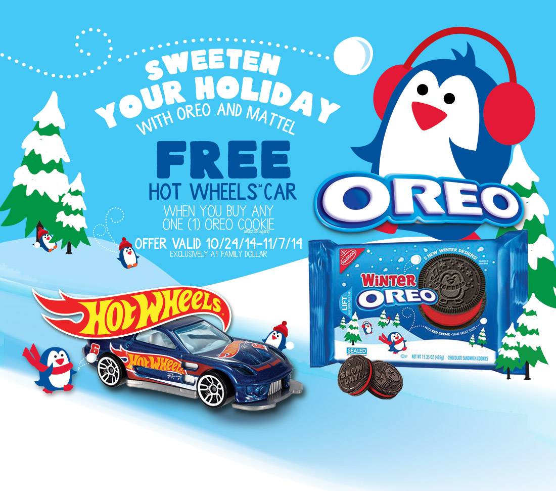 Oreo Mattel Hot Wheels