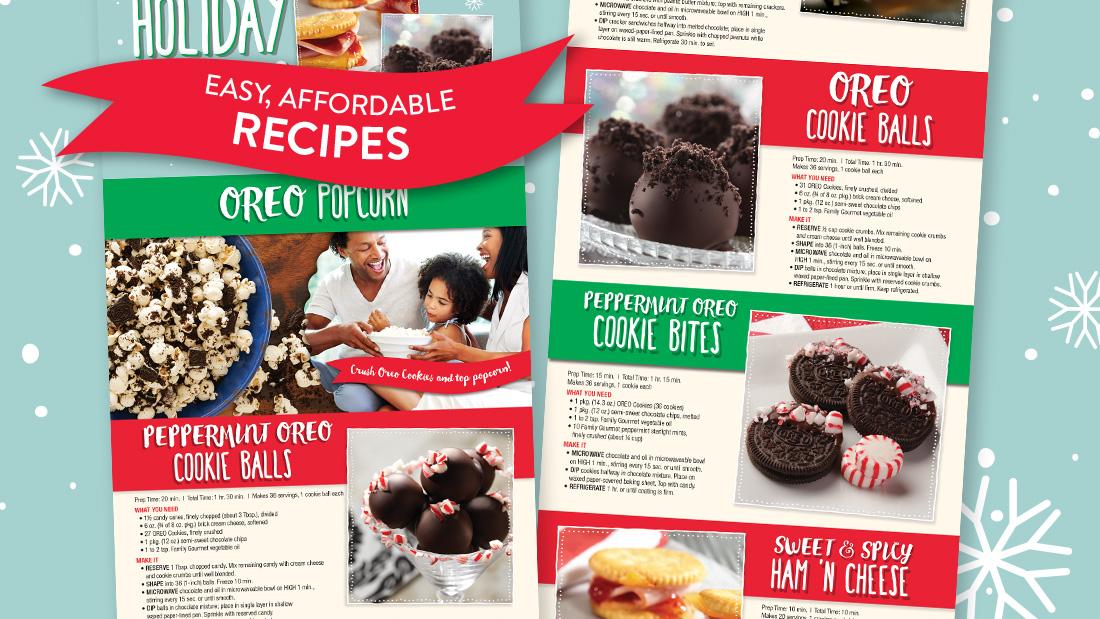 Family Dollar Holiday Recipes